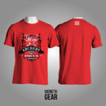 T-SHIRT FOCUS ARCHERY RED