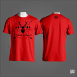 T-SHIRT WORLD ARCHERY RED
