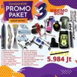 paket promo standar bow 3 maximo